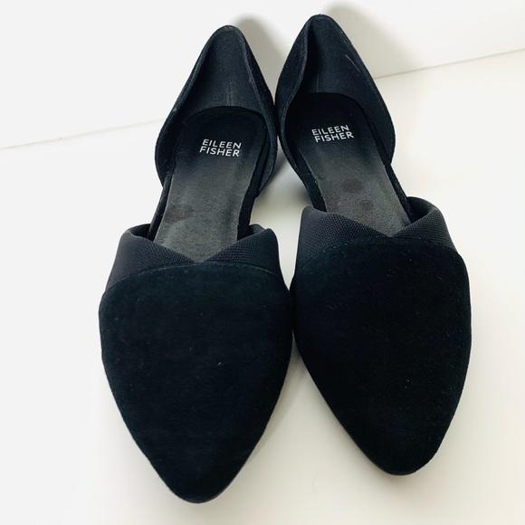 Eileen Fisher Women's Asha Shoes Black Sz 7.5 GUC